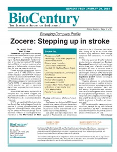 Zocere- Stepping up in stroke (BioCentury)(FINAL)_Page_1