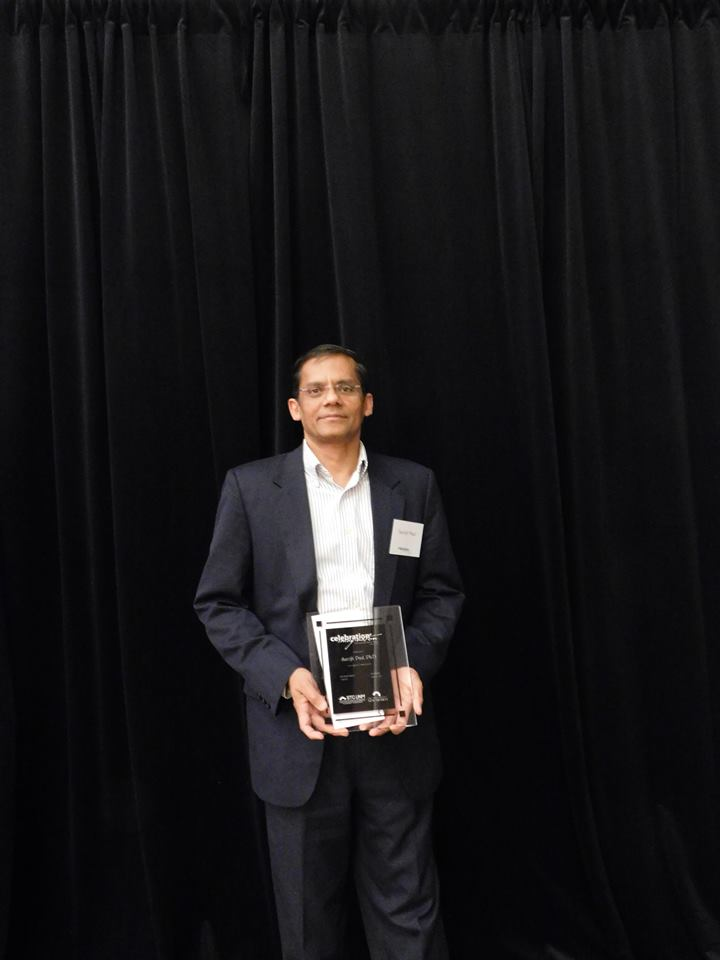 Dr. Surojit Paul wins Innovation Award for Zocere